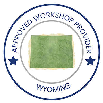 approved WY workshop provider