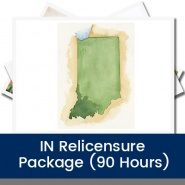 IN Relicensure Package (90 Hours)