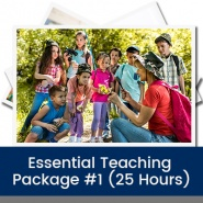 Essential Teaching Package #1 (25 Hours)