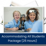 Accommodating All Students Package (25 Hours)