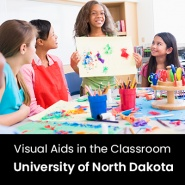 Visual Aids in the Classroom (1 Graduate Professional Development Credit - University of North Dakota)