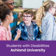 Students with Disabilities (1 semester credit - Ashland University)