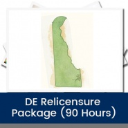 DE Relicensure Package (90 Hours)