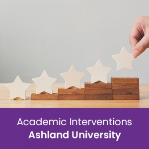 Academic Interventions (1 semester credit - Ashland University)