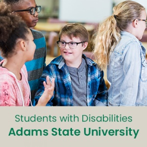 Students with Disabilities (1 semester credit - Adams State University)